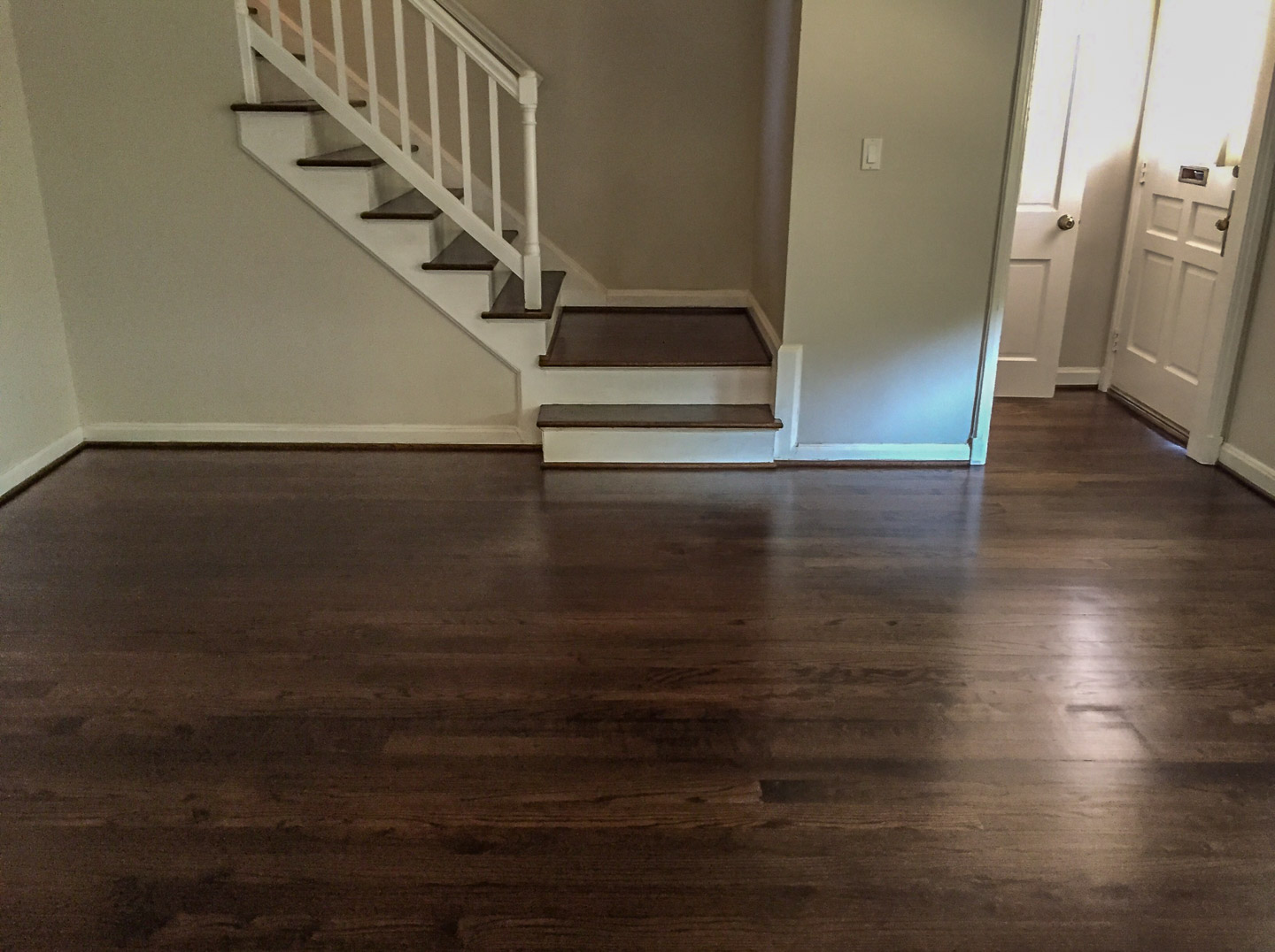 Water Popping On Oak With Jacobean Stain